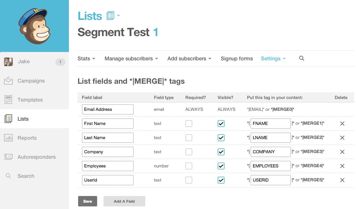 Image result for mailchimp list segmentation