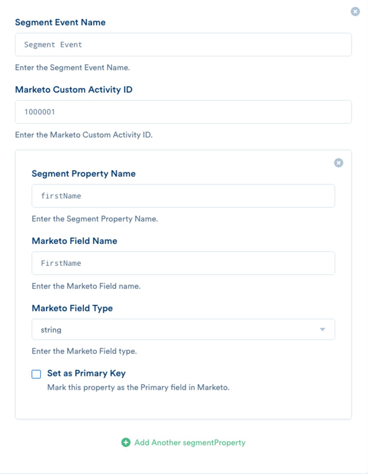 Marketo V2 Destination Documentation - Segment
